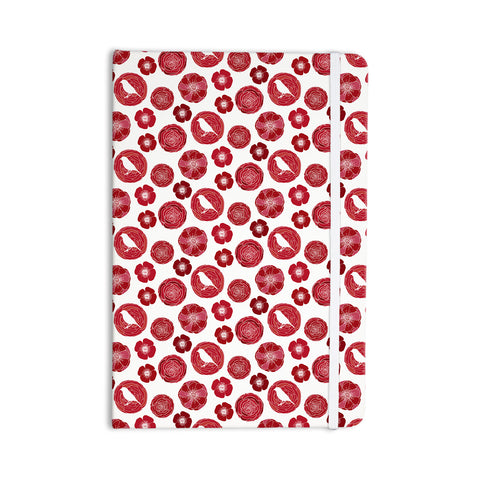 "Anchobee ""Lucrezia"" Red Pattern Everything Notebook - KESS InHouse"