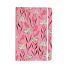 "Amy Reber ""White Floral"" Pink Pattern Everything Notebook - KESS InHouse  - 1"