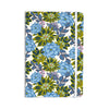 "Amy Reber ""Blue Dahlias"" Green Floral Everything Notebook - KESS InHouse  - 1"