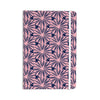 "Amy Reber ""Pink Daisy"" Blue Pattern Everything Notebook - KESS InHouse  - 1"