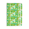 "Amy Reber ""Maze"" Green Vector Everything Notebook - KESS InHouse  - 1"