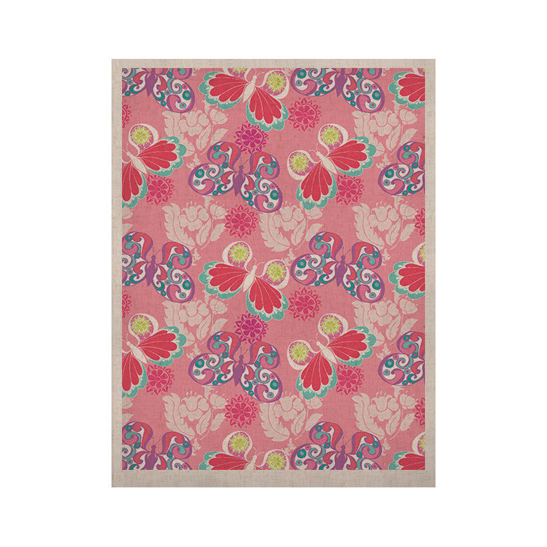 "Anneline Sophia ""Baroque Butterflies"" KESS Naturals Canvas (Frame not Included) - KESS InHouse  - 1"