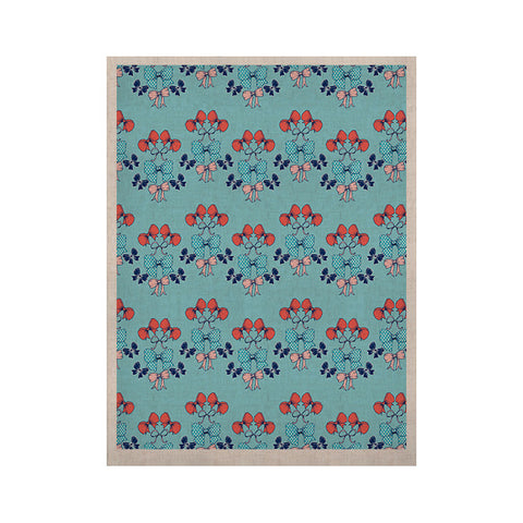 "Anneline Sophia ""Bows"" KESS Naturals Canvas (Frame not Included) - KESS InHouse  - 1"