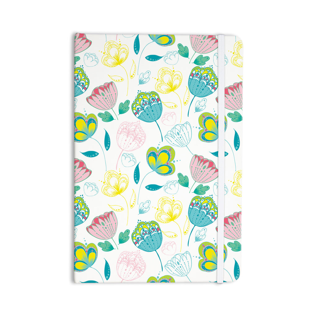 "Anneline Sophia ""Indie Floral"" Everything Notebook - KESS InHouse  - 1"