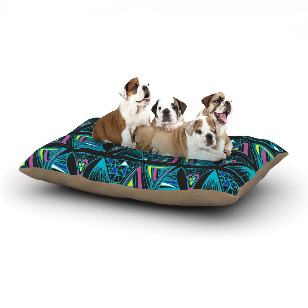 "Anneline Sophia ""It's Complicated"" Dog Bed - KESS InHouse  - 1"