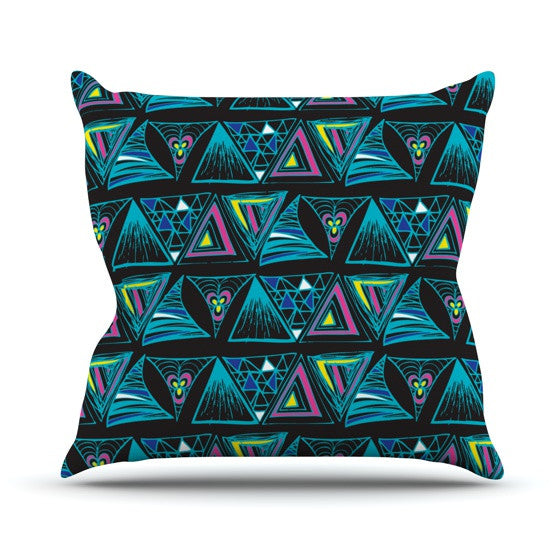 "Anneline Sophia ""It's Complicated"" Throw Pillow - KESS InHouse  - 1"