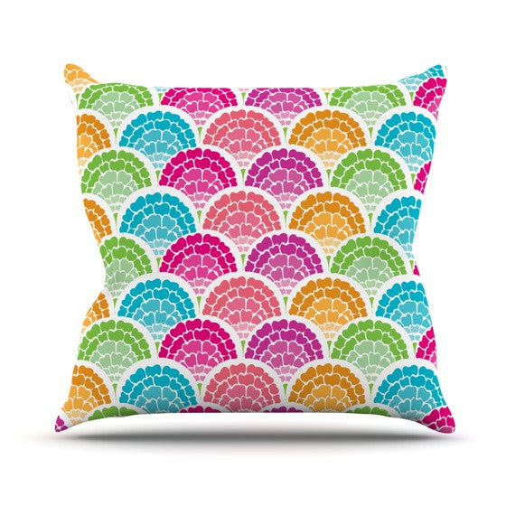 "Anneline Sophia ""Rina"" Outdoor Throw Pillow - KESS InHouse  - 1"
