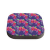 "Anneline Sophia ""Beautifully Boho"" Purple Coasters (Set of 4)"