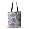 "Anneline Sophia ""Lacy Yin Yang"" Blue Everything Tote Bag - Outlet Item"