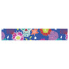"Anneline Sophia ""Day of the Dead"" Blue Aztec Table Runner - KESS InHouse  - 1"