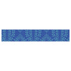 "Anneline Sophia ""Laurel Leaf Blue"" Navy Floral Table Runner - KESS InHouse  - 1"