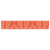 "Anneline Sophia ""Laurel Leaf Orange"" Red Floral Table Runner - KESS InHouse  - 1"