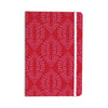 "Anneline Sophia ""Laurel Leaf Red"" Maroon Floral Everything Notebook - KESS InHouse  - 1"