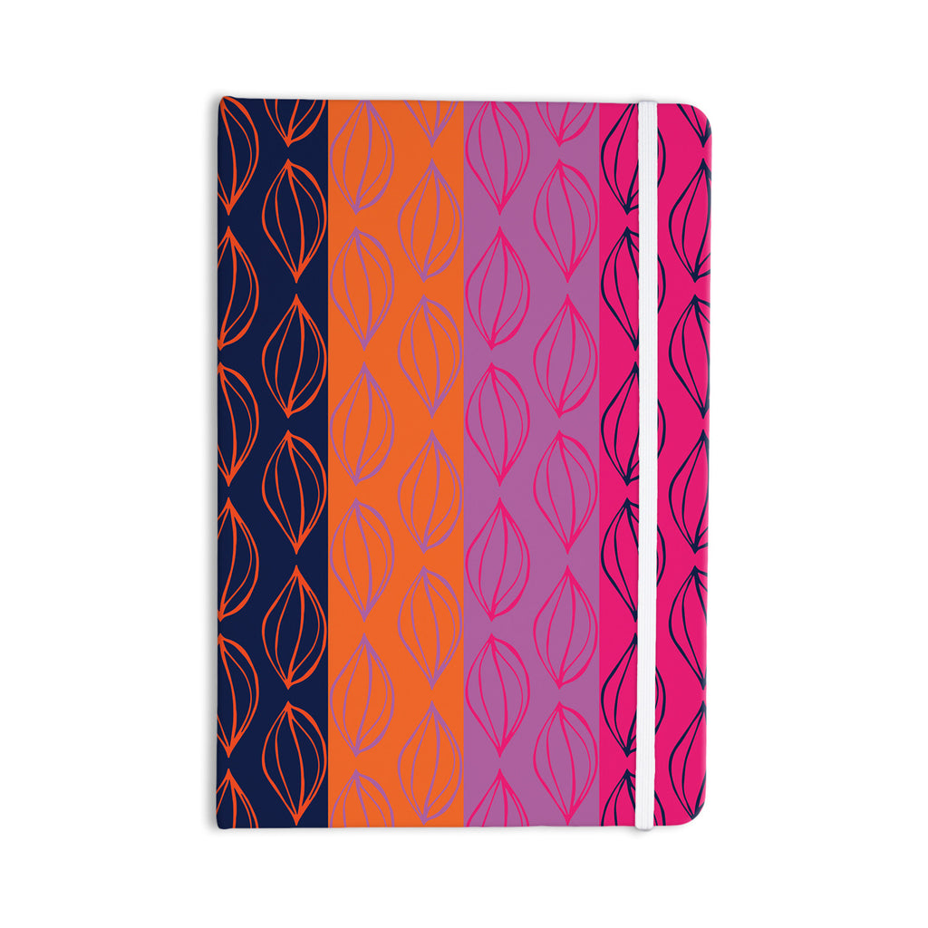 "Anneline Sophia ""Tropical Seeds"" Pink Orange Everything Notebook - KESS InHouse  - 1"