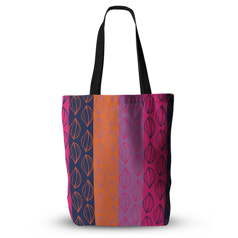 "Anneline Sophia ""Tropical Seeds"" Pink Orange Everything Tote Bag - KESS InHouse  - 1"