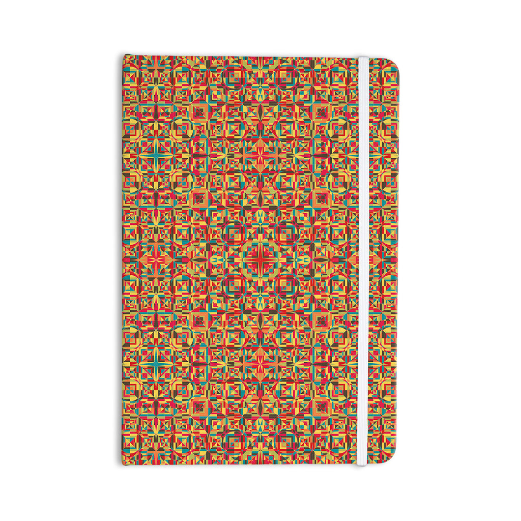 "Allison Soupcoff ""Circus"" Orange Everything Notebook - KESS InHouse  - 1"