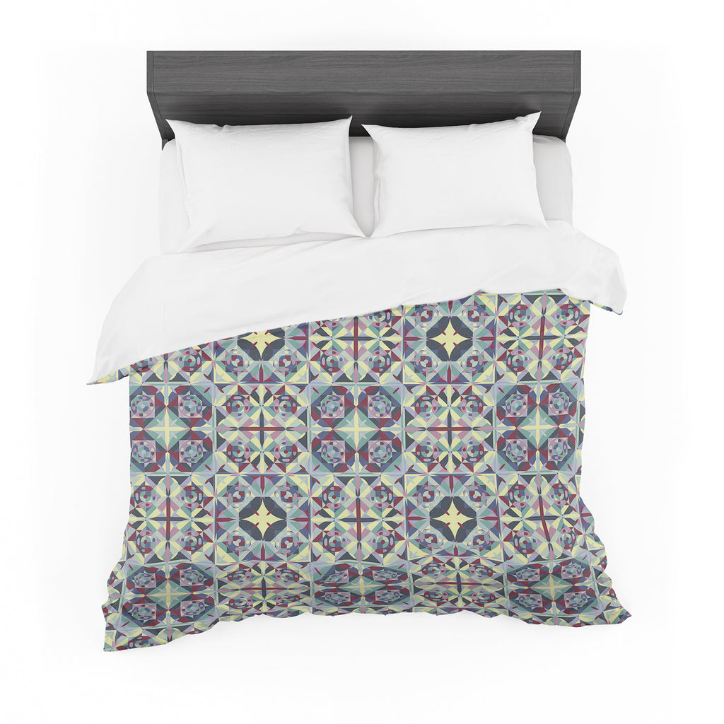 "Allison Soupcoff ""Curiousity"" Purple Featherweight Duvet Cover"