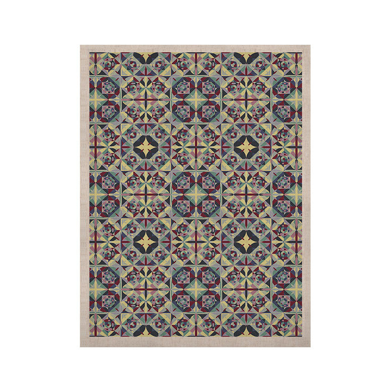 "Allison Soupcoff ""Curiousity"" Purple KESS Naturals Canvas (Frame not Included) - KESS InHouse  - 1"