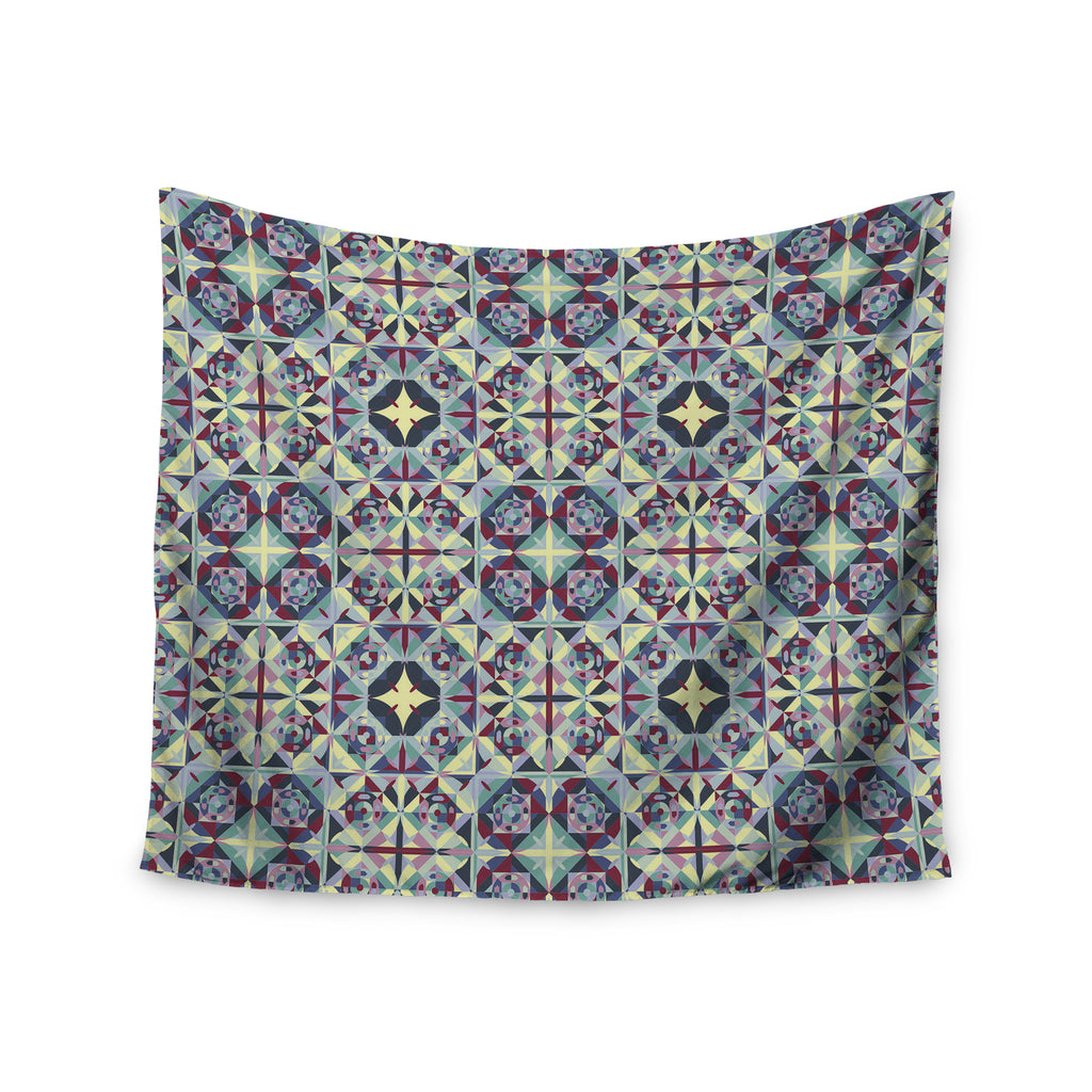 "Allison Soupcoff ""Curiousity"" Purple Wall Tapestry - KESS InHouse  - 1"