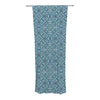 "Allison Soupcoff ""Ocean"" Blue Teal Decorative Sheer Curtain - KESS InHouse"
