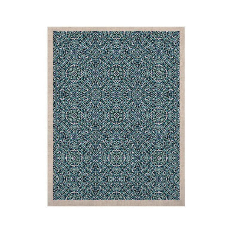 "Allison Soupcoff ""Ocean"" Blue Teal KESS Naturals Canvas (Frame not Included) - KESS InHouse  - 1"