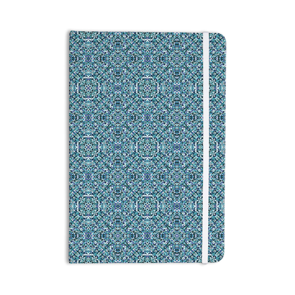 "Allison Soupcoff ""Ocean"" Blue Teal Everything Notebook - KESS InHouse  - 1"