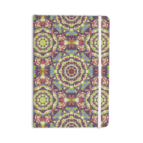 "Allison Soupcoff ""Plum Lace"" Green Purple Everything Notebook - KESS InHouse  - 1"