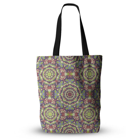 "Allison Soupcoff ""Plum Lace"" Green Purple Everything Tote Bag - KESS InHouse  - 1"