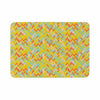 "Allison Soupcoff ""Chevron Pop "" Yellow Pattern Memory Foam Bath Mat - KESS InHouse"