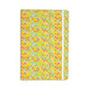 "Allison Soupcoff ""Chevron Pop "" Yellow Pattern Everything Notebook - KESS InHouse  - 1"
