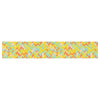 "Allison Soupcoff ""Chevron Pop "" Yellow Pattern Table Runner - KESS InHouse  - 1"