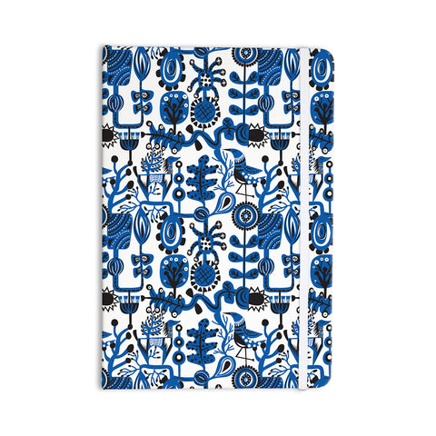 "Agnes Schugardt ""Dream"" Blue White Everything Notebook - KESS InHouse  - 1"