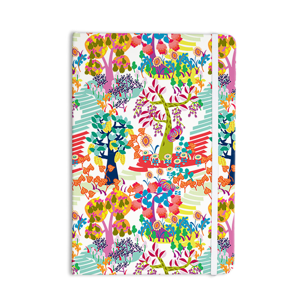 "Agnes Schugardt ""Fruit of the Earth"" Multicolor Nature Everything Notebook - KESS InHouse  - 1"