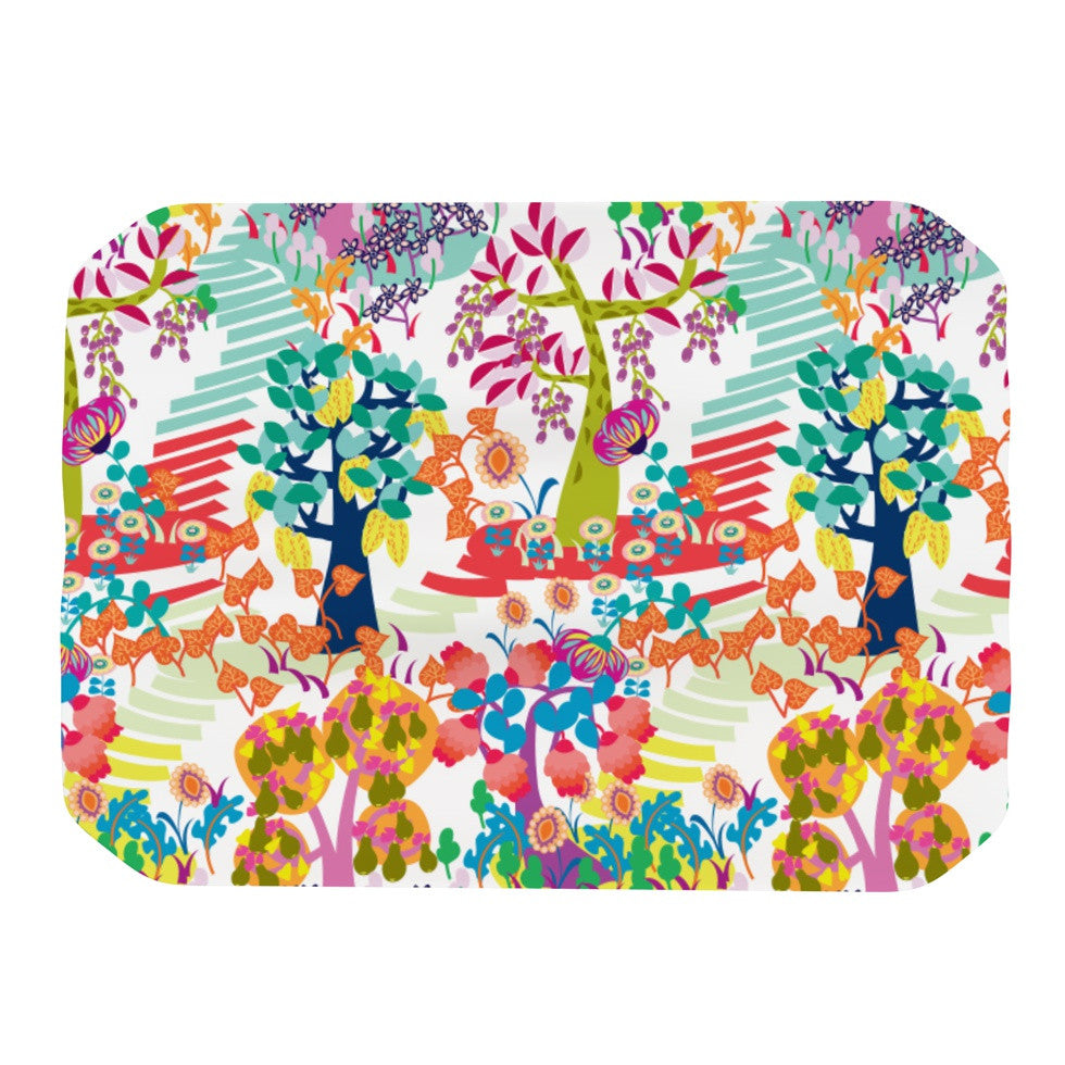 "Agnes Schugardt ""Fruit of the Earth"" Multicolor Nature Place Mat - KESS InHouse"