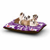 "Agnes Schugardt ""The Tribe"" Purple Tribe Dog Bed - KESS InHouse"