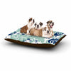 "Agnes Schugardt ""Folk Birds"" White Vector Dog Bed - KESS InHouse  - 1"