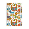 "Agnes Schugardt ""In The Village"" Vintage Multicolor Everything Notebook - KESS InHouse  - 1"