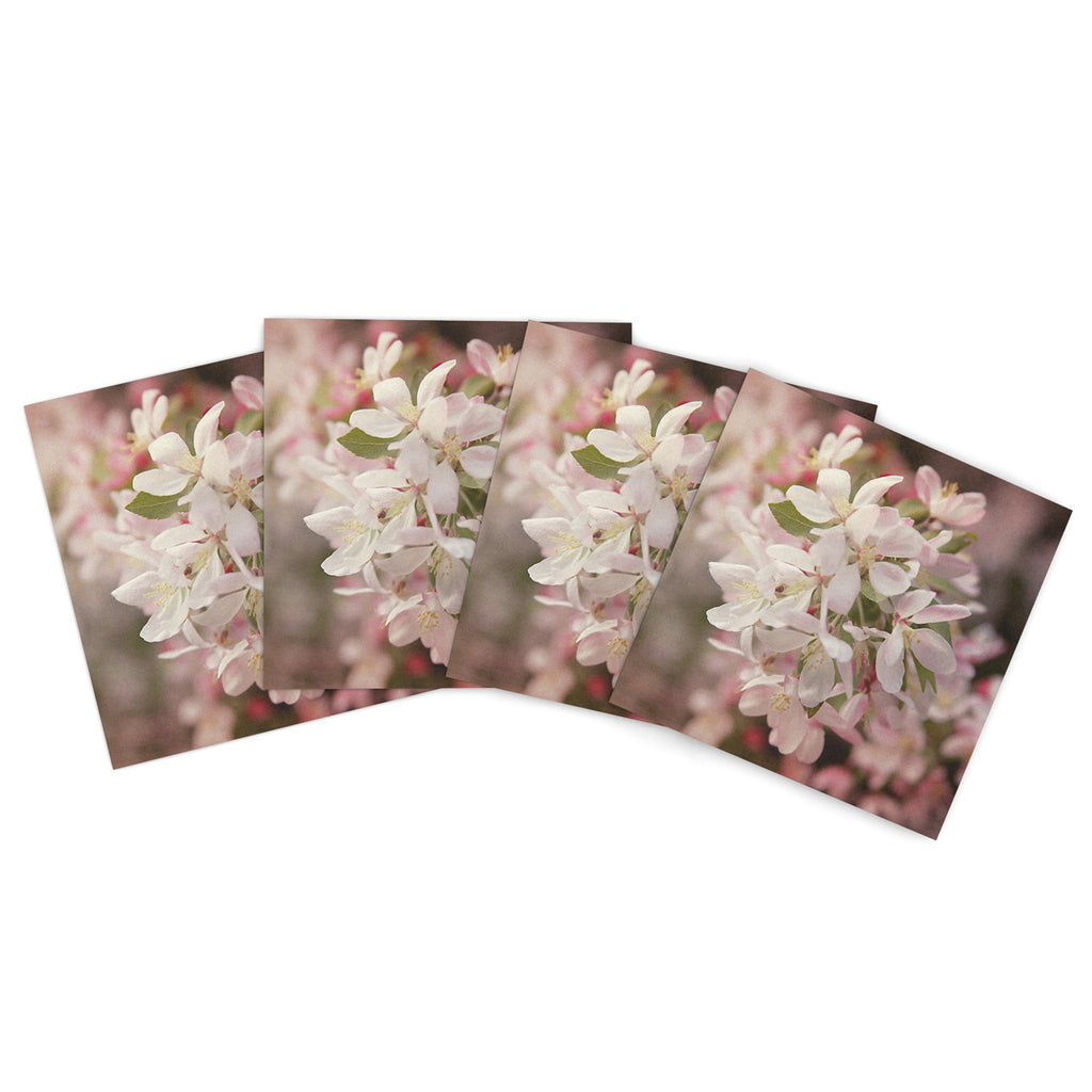 "Angie Turner ""Apple Blossoms"" Outdoor Place Mat - Outlet Item"