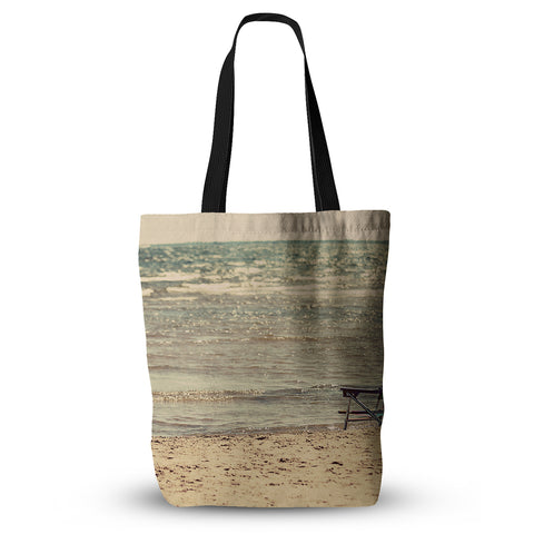 "Angie Turner ""Beach Chair"" Sandy Beach Everything Tote Bag - Outlet Item"