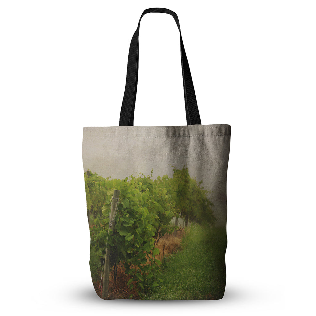 "Angie Turner ""Grape Vines"" Foggy Everything Tote Bag - KESS InHouse  - 1"