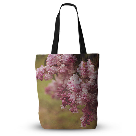 "Angie Turner ""Lilacs"" Pink Flower Everything Tote Bag - Outlet Item"