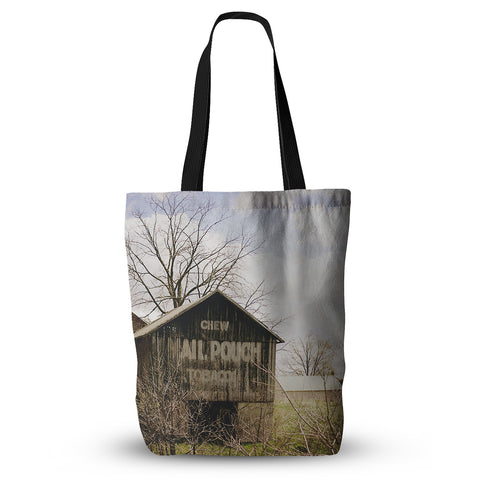 "Angie Turner ""Mail Pouch Barn"" Wooden House Everything Tote Bag - Outlet Item"