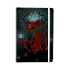 "Anya Volk ""Magic Fox"" Teal Fantasy Everything Notebook - KESS InHouse  - 1"