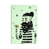 "Anya Volk ""Dreamer 3"" Green Black Everything Notebook - KESS InHouse  - 1"