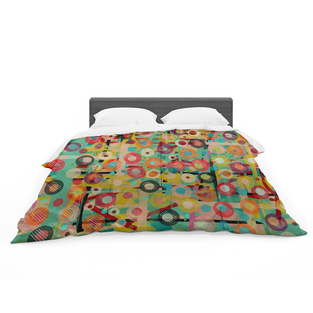 "Bri Buckley ""Gift Wrapped"" Crazy Abstract Featherweight Duvet Cover"