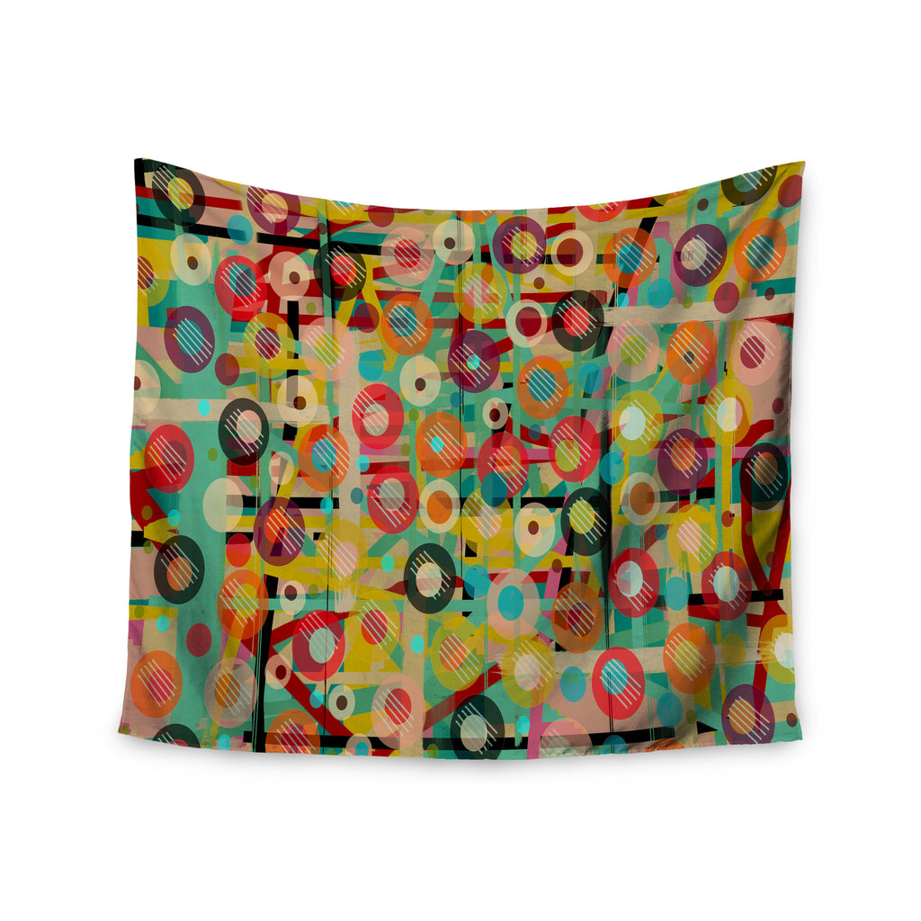 "Bri Buckley ""Gift Wrapped"" Crazy Abstract Wall Tapestry - KESS InHouse  - 1"