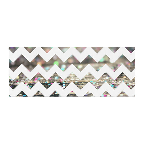 "Beth Engel ""After Party Chevron"" Bed Runner - KESS InHouse"