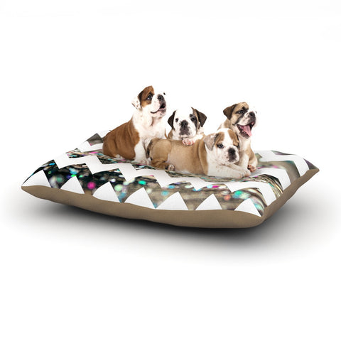 "Beth Engel ""After Party Chevron"" Dog Bed - KESS InHouse  - 1"