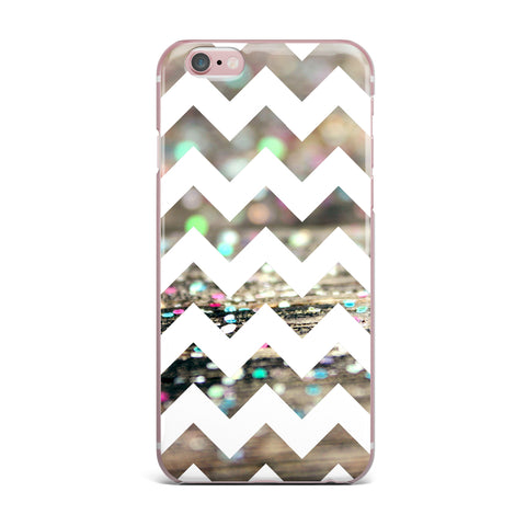 "Beth Engel ""After Party Chevron"" iPhone Case - KESS InHouse"