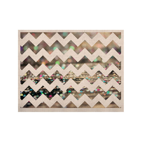 "Beth Engel ""After Party Chevron"" KESS Naturals Canvas (Frame not Included) - KESS InHouse  - 1"